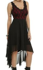 ROYAL BONES ROMANTIC GOTHIC LACE AND MESH VAMPIRE SUN DRESS NWT SZ MD TRIPP