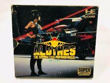 PC Engine Aldynes HuCard Super GRAFX Hudson NEC Japan Import used
