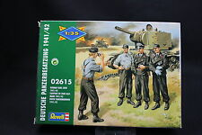 XP073 REVELL 1/35 maquette figurine 2615 Equipage de char allemand 1941 1942