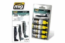 AMMO OF MIG A.MIG-7207 Acrylic Paint Set (4 Jars) US Navy WWII Colors 17ml