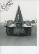 BUSHMASTER AUTOGRAPHED YELLOW FANG 1970        8X12 DRAG  RACING PHOTO