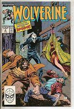 Marvel Comics Wolverine #4 February 1989 1st Roughhouse & Bloodsport VF+