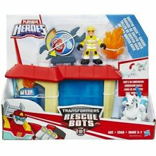 Playskool Héroes Transformers Rescue Bots-Griffin Rock Garage * Nuevo *