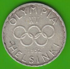 Finnland 500 Markkaa 1952 Olympia knappes vz nswleipzig