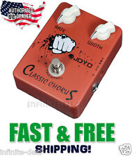 New JOYO JF-05 Classic Chorus Effects Pedal FX Stompbox True Bypass FREE Sh