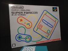SUPER FAMICOM NINTENDO CLASSIC MINI ENTERTAINMENT SYSTEM 21 GAMES 2 CONTROLLERS