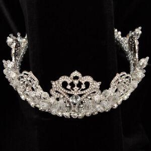 Hand made diadem (crown) JulietCap D102