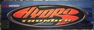 "Hydro Thunder Arcade Marquee 28.5""x8.75"""