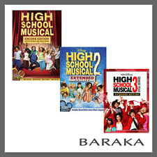 High School Musical 1 2 & 3 Senior Year Extended Edition DVD R4 Disney