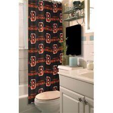 Cincinnati Bengals NFL LOGO Shower Curtain (72x72) FREE US SHIPPING