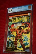 THE CHAMPIONS #1 CGC 9.6 WHITE PAGES!! BLACK WIDOW, GHOST RIDER, HERCULES