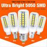 lampada e27 e14 g9 gu10 9w/11w/12w/13w/15w led 5050 smd mais lampadina 220~240v
