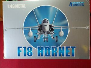 Franklin Mint Armour F-18 Hornet 1:48 scale  #98014