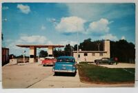 Northern Indian East West Toll Road Angola Inter-change Old Cars Postcard C20