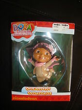 2011 New Nickelodeon Dora the Explorer Christmas ornament pink snowsuit