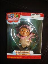 2011 Nickelodeon Dora the Explorer Christmans ornament pink snowsuit