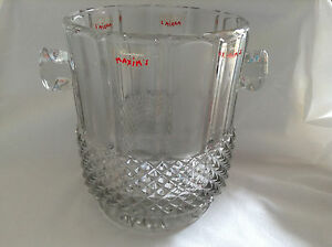 CHAMPAGNE BUCKET BY MAXIM'S  WITH DESIGN