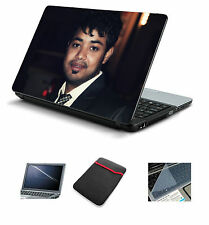 "Custom Picture Laptop Accessories Combo 4in1 (Skin+Sleeve+Screen+KeyGuard) 15.6"""