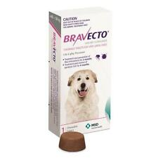 10 X Bravecto for Dogs Very Large 40-56kg 1pk Chews