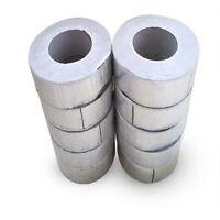 Aluminum Foil Butyl Rubber Tape Self Adhesive Waterproof Roof Pipe Marine Repair