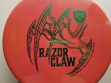 Eagle McMahon Signature Razor Claw Discmania 174g Orange Swirly Burst Green Foil