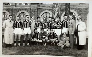 Squadra di calcio Macerata foto cartolina 1939 campionato Serie C