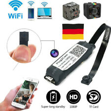 Mini Kamera Wireless 1080P HD Überwachungkamera Hidden Spion Camera Spycam DE