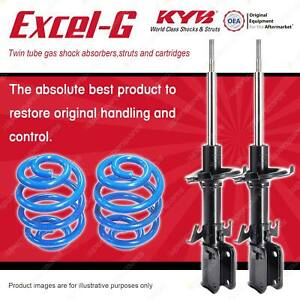 Front KYB EXCEL-G Shocks Sport Low Coil Springs for MERCEDES BENZ Vito 108D 638