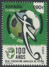 SELLOS ESPAÑA 2015 - 4950 Cent. Federación Andaluza Fútbol