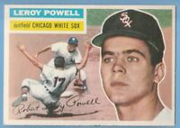 1956 Topps #144 Leroy Powell EX-MT Chicago White Sox
