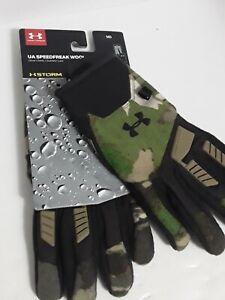 Under Armour Mens Speedfreak Wool Hunting Gloves Size Medium (1301403-943) NEW!!