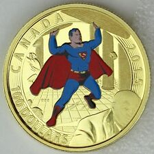 Canada 2015 $100 Iconic Superman Comic Book Covers Superman #4 (1940) 14k Gold