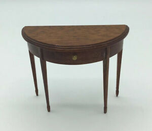 Dolls House Half Round Table By 'GP Masters'