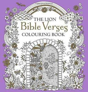 Il Lion Bibbia Versi Libro da Colorare Di Antonia JACKSON,Nuovo ,Free & Veloce D