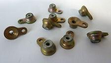 10 Stk. Anniet- Muttern; Annietmuttern; Nietmutter M4 aus Stahl/ Nylon; Nylstop