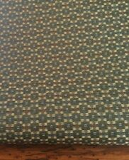 Upholstery Crypton Fabric Robert Allen Green Mini Square Hodgepodge 2.3 Yards