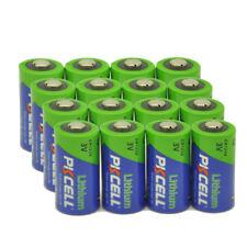 16pcs 123A CR17345 DL123 CR123A DL123A PL123A 3V Photo Lithium Batteries 10years