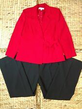 Black Le Suit Women/'s Venice Textured Striped Notched Blazer 18W
