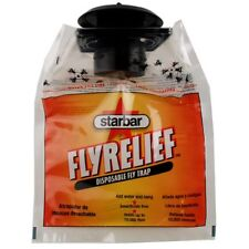 STAR BAR FLY RELIEF BAG Disposable Fly Trap Insecticide Free Regular Size