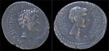 Roman imperatorial Mark Antony & Octavian Ar denarius