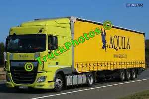 Truck Photo TR-00785 DAF XF Reg:- PH15RNH Op:- Aquila M20 Dover Lorry Kent