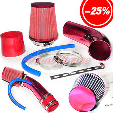 """2.5""""-3.0"""" UNIVERSAL COLD AIR Intake INDUCTION HOSE KIT System & Narrow Filter RD"""