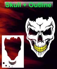 Skull 25 Airbrush Stencil Spray Vision Template air brush