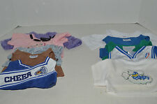 Build A Bear~#1~Assortment Of 10 Girl's Clothes~10 Shirts~G2