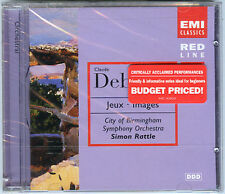DEBUSSY CD Jeux Images SIMON RATTLE 1998 U.S. EMI CD -- ballet score