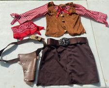 Cowboy Costume Girls Youth Medium - Western Spirit Halloween