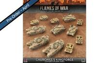 Flames of War Churchill's Kingforce BRAB11