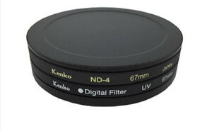 Metal Lens Filter Protection Case Box Dust-proof Protector Lens Cap 40.5-82mm