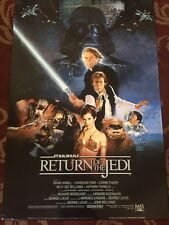 Star Wars Return Of The Jedi Movie Poster Original Vintage