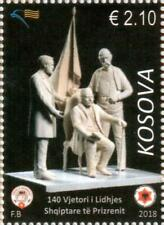 Kosovo Stamp 2018. 140th anniversary of Albanian League of Prizren. Set MNH